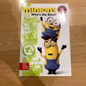 FREE with 3+ bundle Minions book - Who's the Boss?